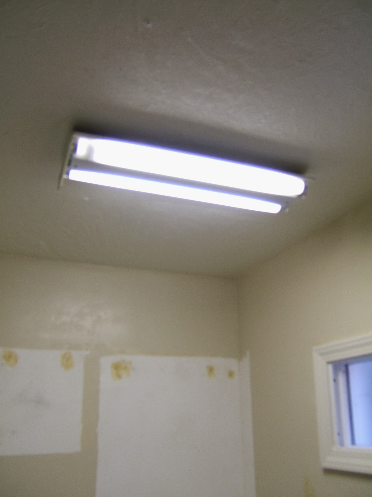 As you know we had a fluorescent light fixture in the for Old bathroom light fixtures