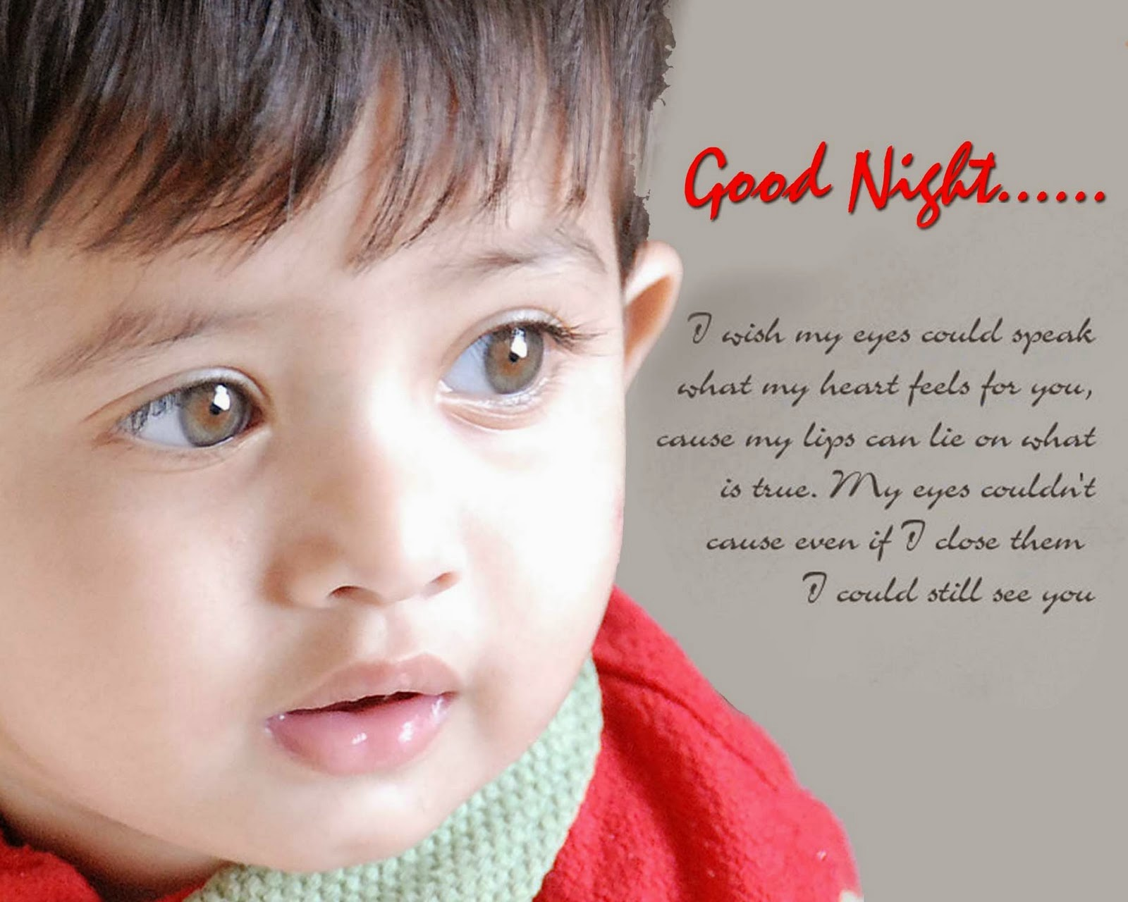 cute boy with good night quotes wallpapers