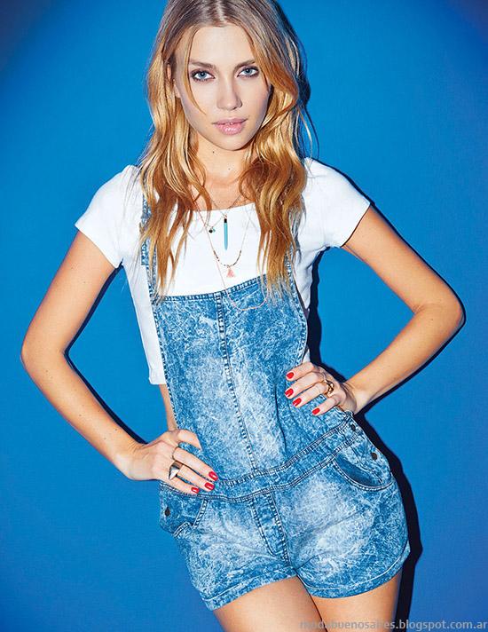 El enterito de Jean es un hit de temporada. Las claves de la moda verano 2015 de Cuesta Blanca, pasá por el blog! - Moda y Tendencias en Buenos Aires.