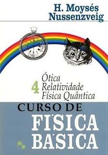 livro Curso de Física Básica 4 ótica, relatividade, física quântica - Moysés