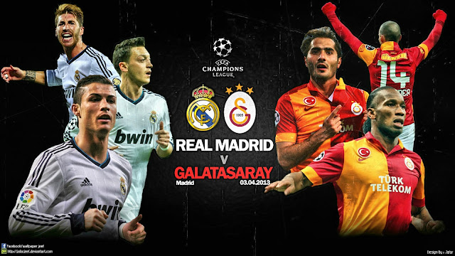 Real Madrid vs Galatasaray 2013 Liga Champions Jadwal Siaran Langsung (SCTV) Real Madrid vs Galatasaray Leg 1 Liga Champions (4 April 2013)