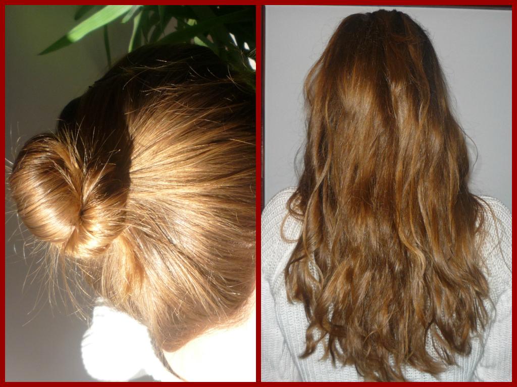 włosy po koczku