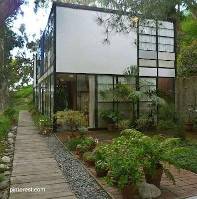 Casa Moderna estilo Mid Century en Estados Unidos
