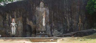 A Photograph of the statues at Buduruwagala, Sri Lanka