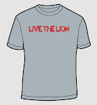 Live the Lion shirts