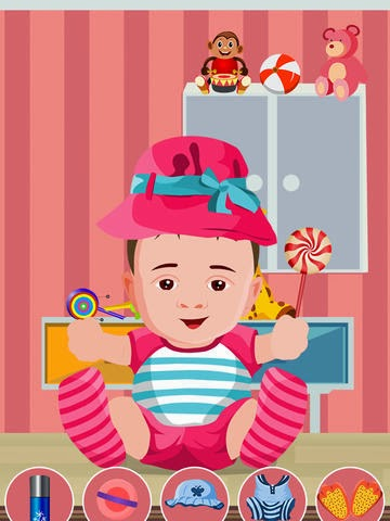 Baby Care and Dressup