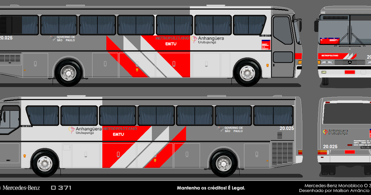 Desenhos de onibus brasileiros e onibus gta pttm for Mercedes benz complaint department