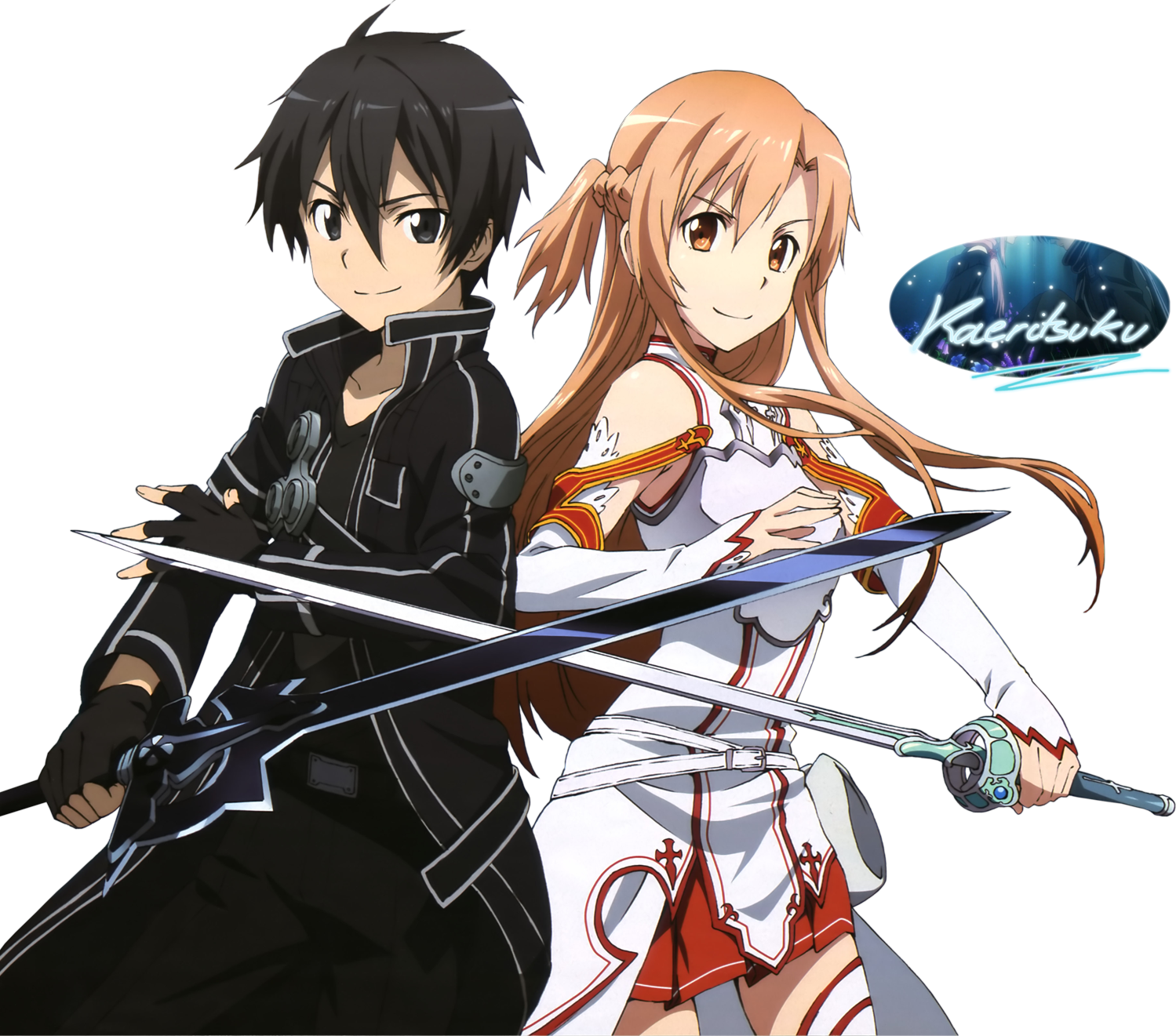 Sword Art Online - Openings  Endings  Cover y OSTsKirito And Asuna