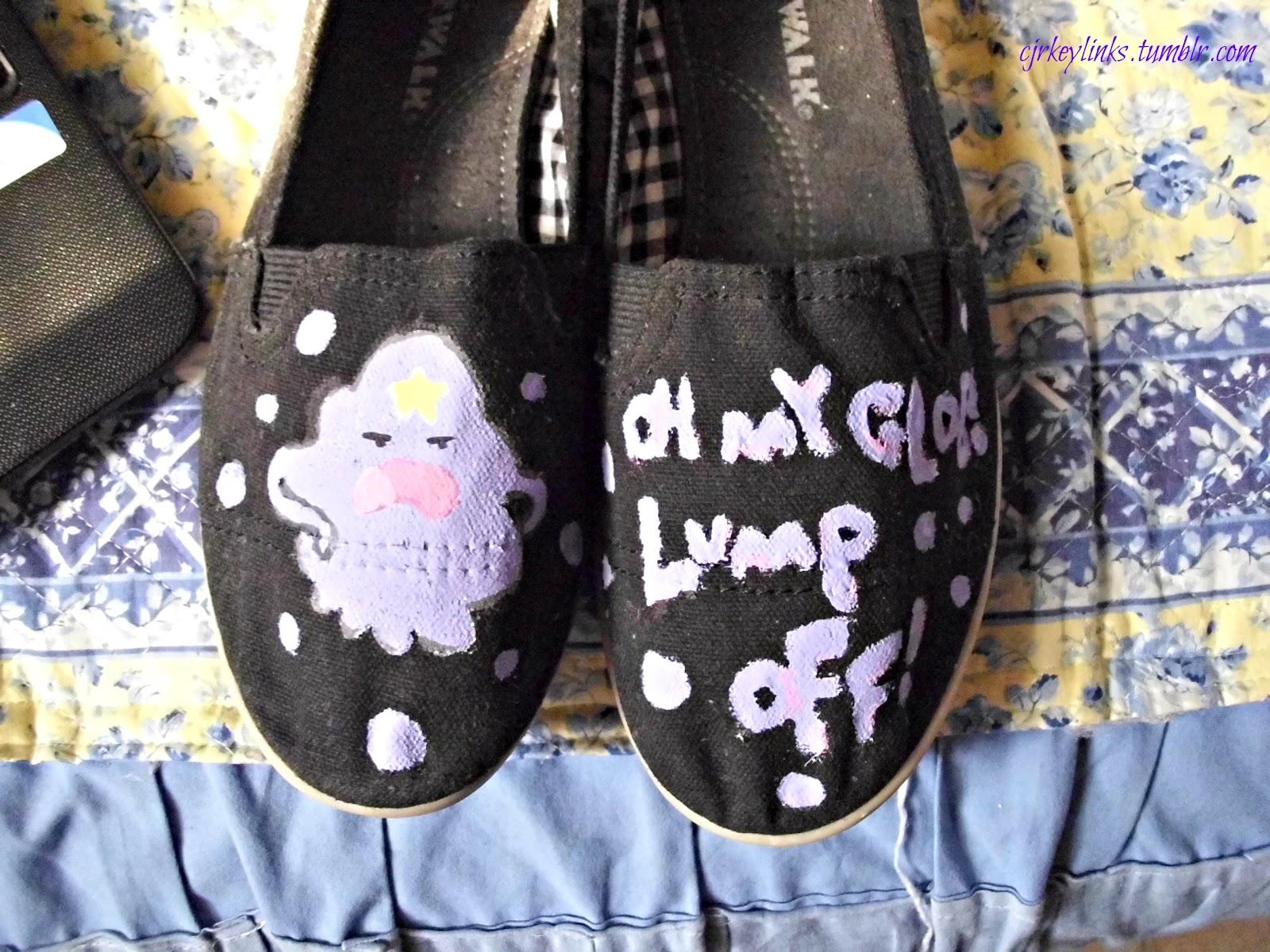 Lumpy Space Princess Nail Designs