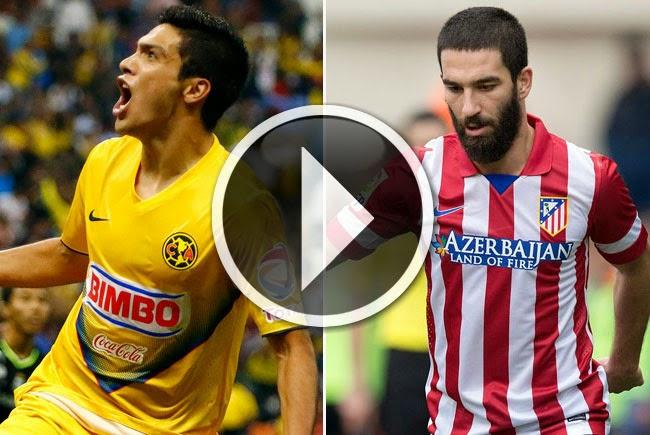 América vs Atlético de Madrid En Vivo
