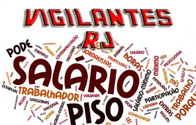 Tabela de Salários e Cargos - RJ 2015
