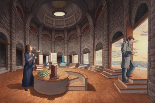 Imagine a World by Rob Gonsalves