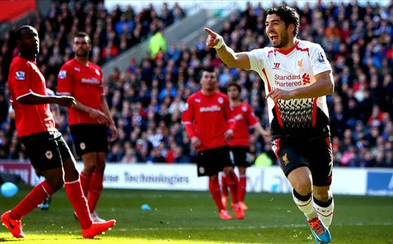 Cardiff City 3 - 6 LIVERPOOL  #22/03/2014  #EPL