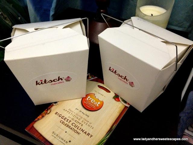 kitsch cupcakes take away box