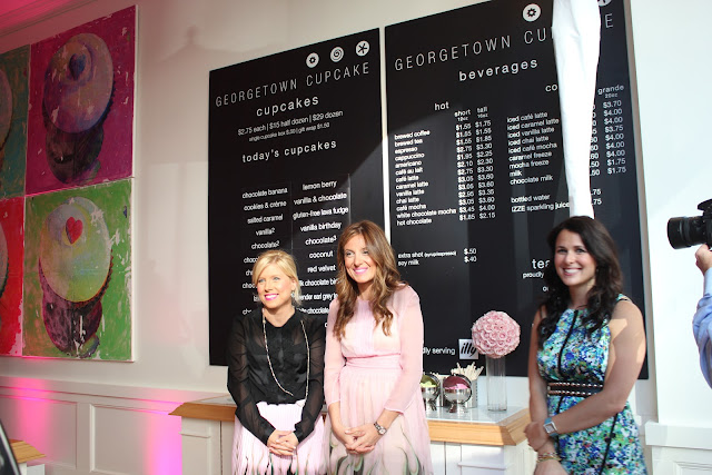 Sophie and Katherine of Georgetown Cupcake