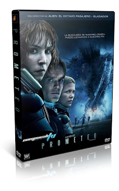 Prometeo DVDR NTSC Español Latino Menú Full 2012