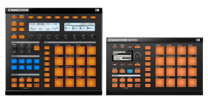 how to use maschine mikro mk2