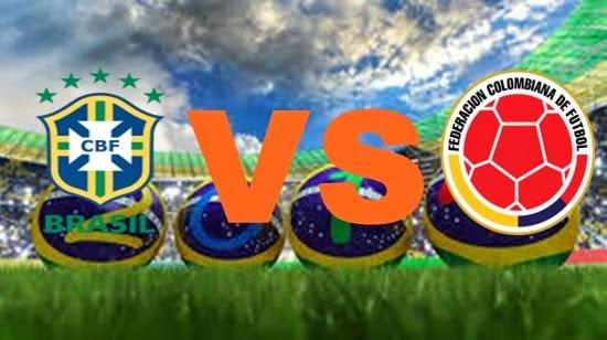 Prediksi Skor FIFA World Cup Terjitu Brazil vs colombia jadwal 5 Juli 2014