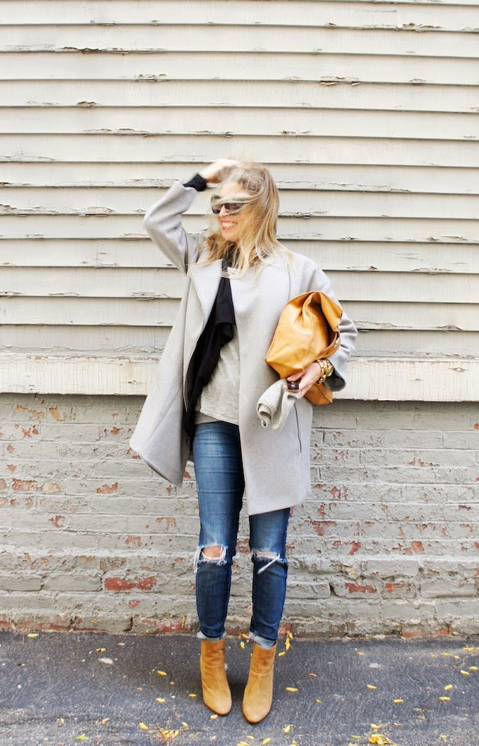 DKNY coat, Zappos shipping, what to wear in boston