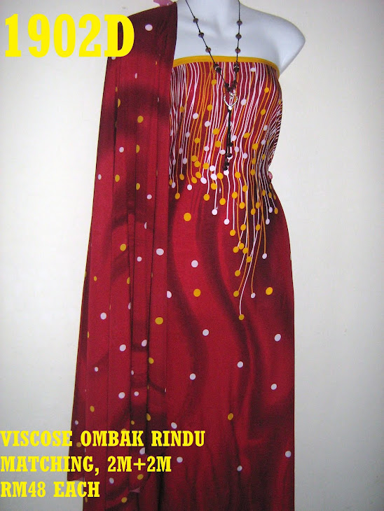 VRM 1902D: VISCOSE OMBAK RINDU MATCHING, 2M+2M