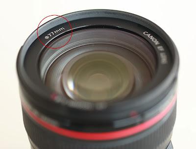 Ø Symbol on Lens