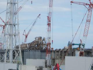 Vista dei reattori 3 e 4