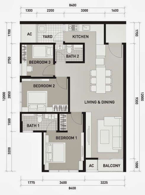 Floor Plan Feng Shui