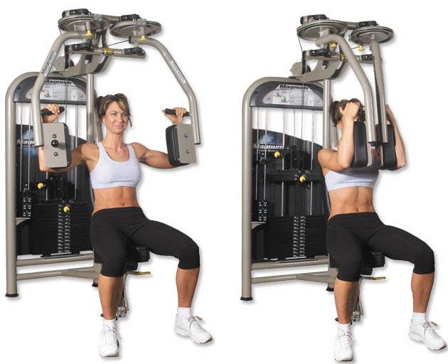 Los mejores ejercicios para desarrollar el pecho toni for Gimnasio 9 y 57