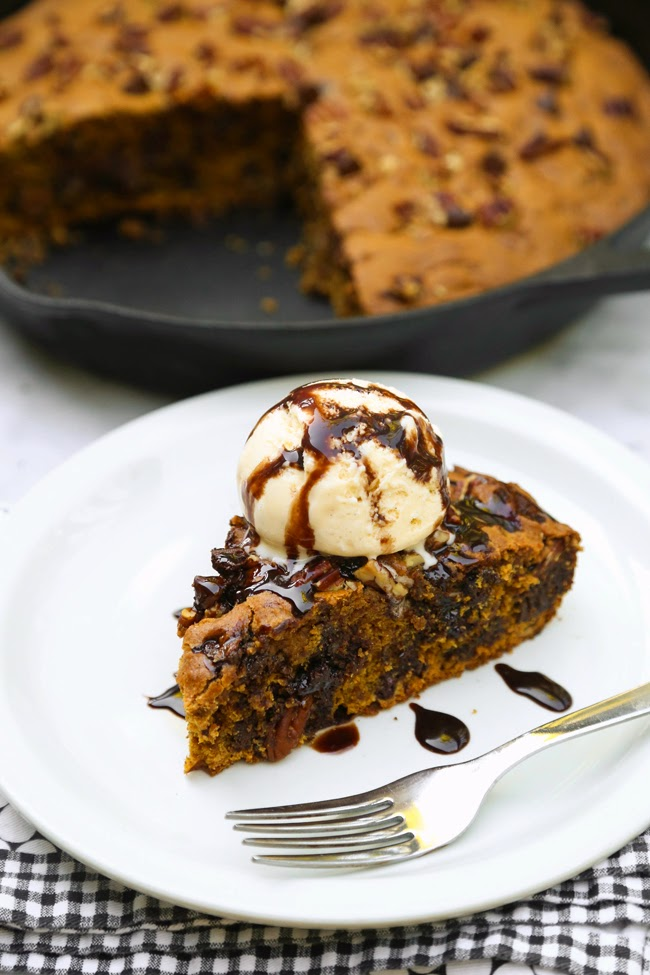 Amanda k. by the Bay: Skillet Pumpkin Bread with Pecans ...
