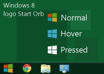 Mengganti start button windows 7 seperti windows 8