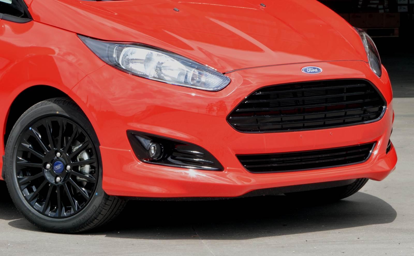 New Fiesta Sport 2015 - vermelho
