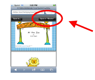 How to open a pdf in ibooks
