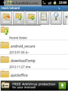 AndroZIP Home