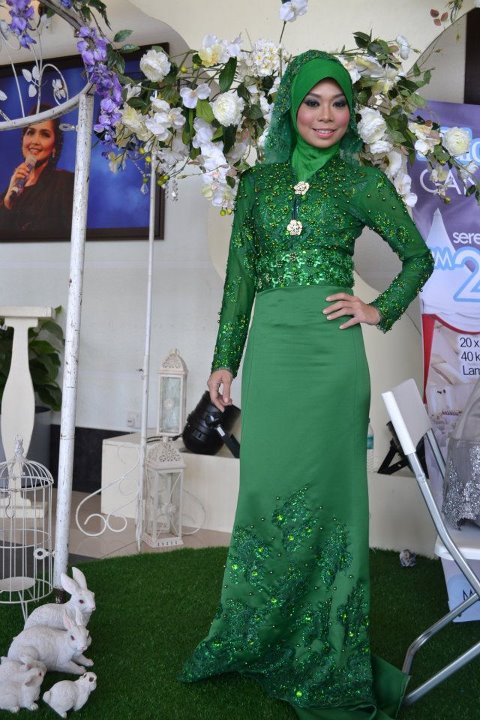 pin baju pengantin hijau zamrud on pinterest