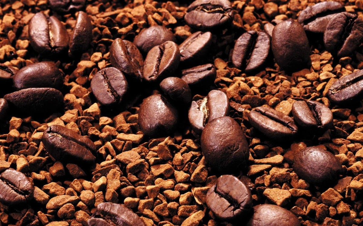 Coffee Beans Widescreen HD Wallpaper 6
