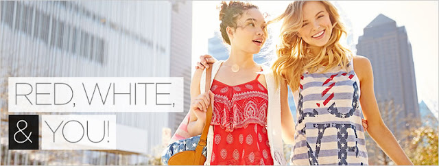 Catalog Cuties: Red, White, And You