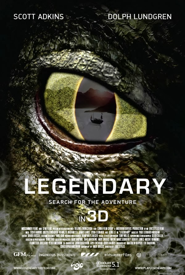 Ver Legendary: Tomb of the Dragon Online Gratis Pelicula Completa
