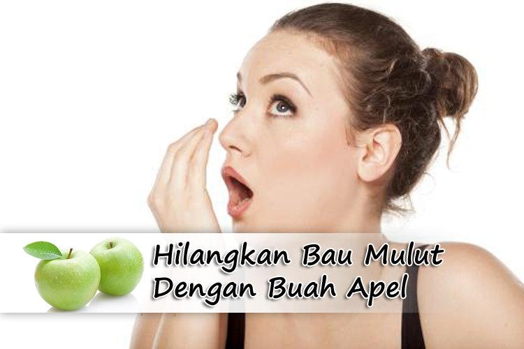 Hilangkan Bau Mulut Dengan Buah Apel