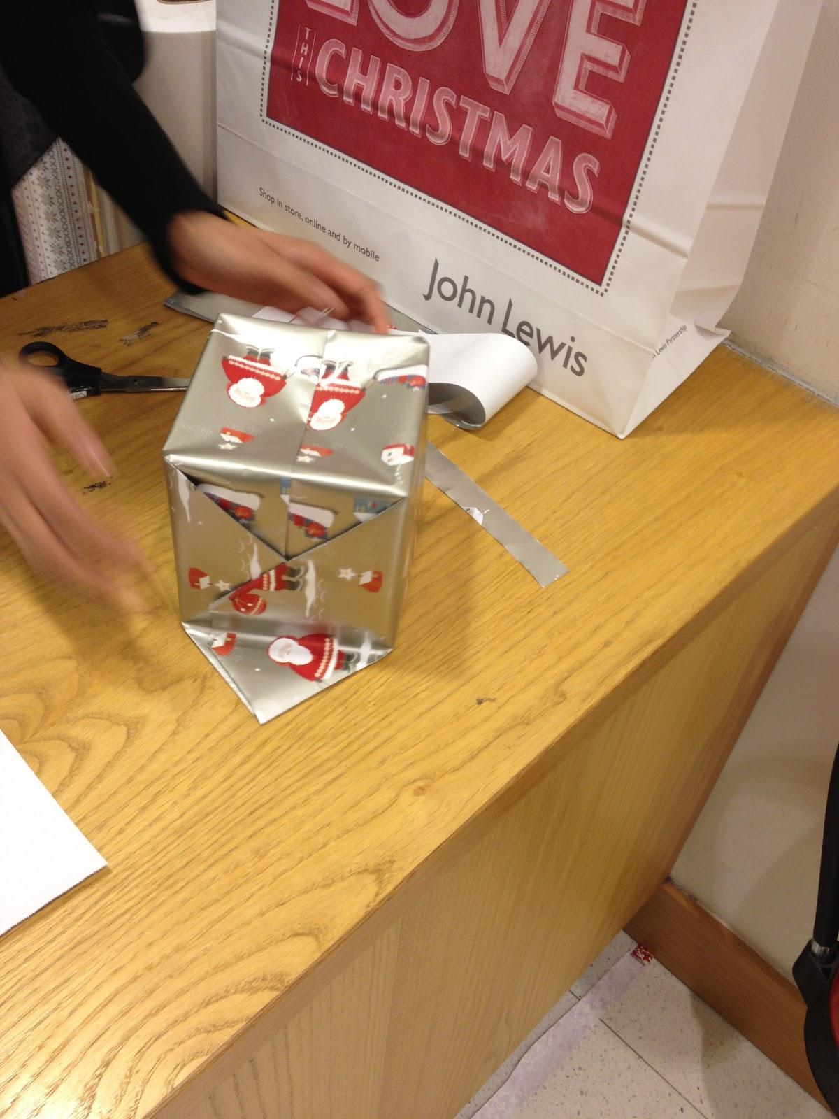 Christmas gift wrap john lewis