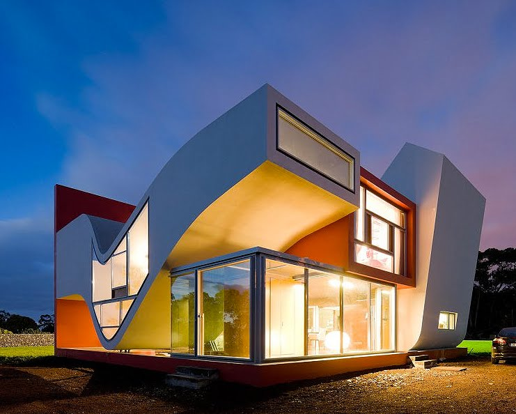 If it 39 s hip it 39 s here archives modern home on the - Architectural design homes pictures ...