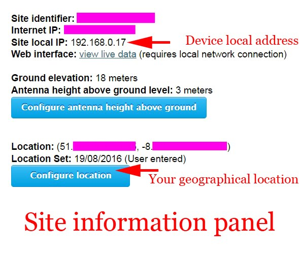 Radio For Everyone PiAware Installation Step By Step - Elevation level by address