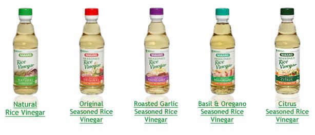 rice vinegar, seasoned, healthy, good