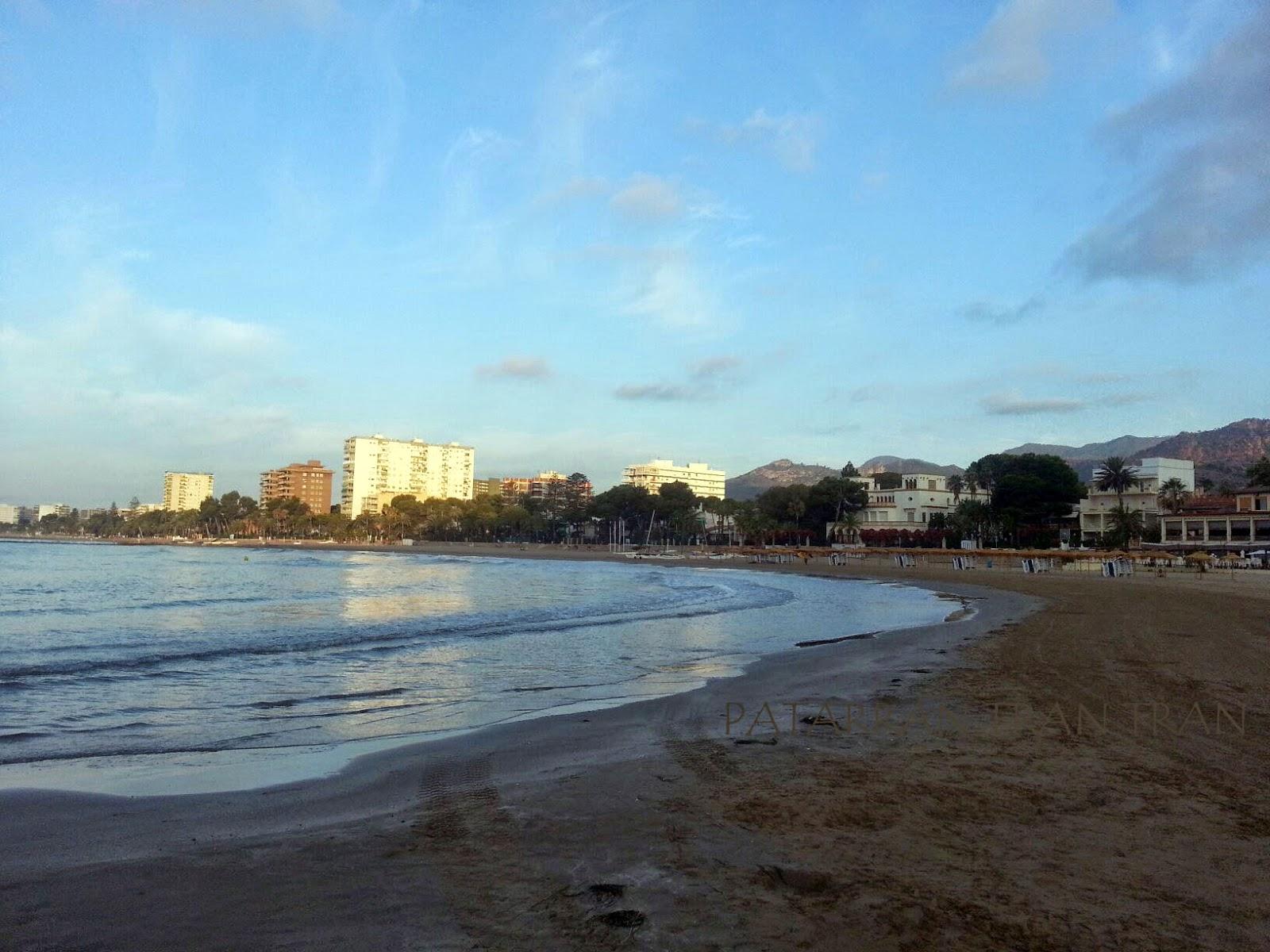 amanecer Playa Voramar. Blessed Summer. Benicassim.