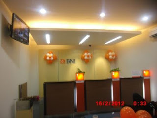 bunga balon BNI