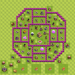 Base Hybrid Layout TH8 By. Giochi