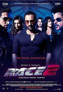 Race 2 (2013) Movie Poster
