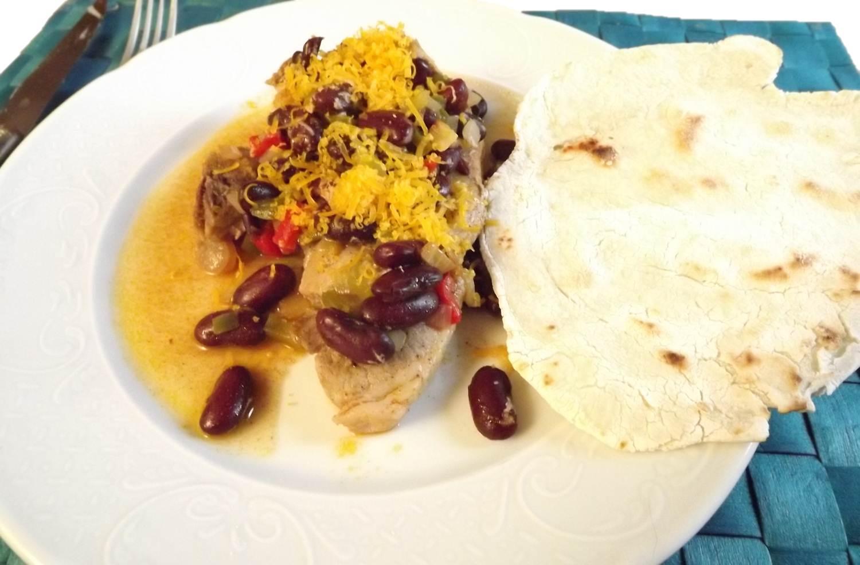 Chaise Cuisine En Solde : Flo en cuisine Côtelettes de porc aux haricots rouges