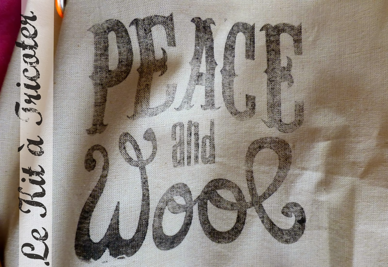 Kit à tricoter PEACE and WOOL