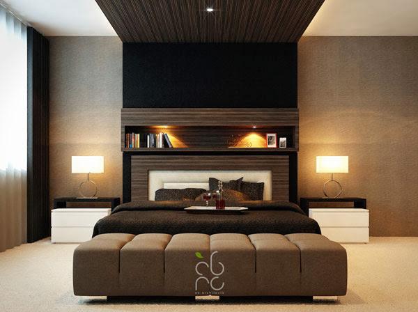 ديكورات غرف نوم تصاميم حديثة وجميلة بألوان هادئة Bedroom Decoration