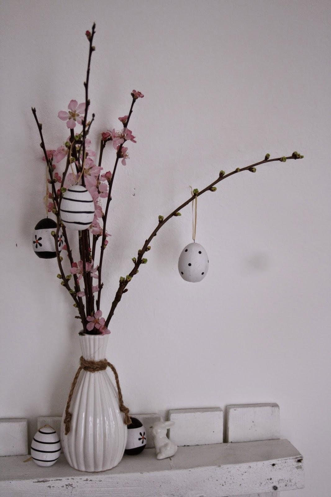Kirschblüten Osterdeko
